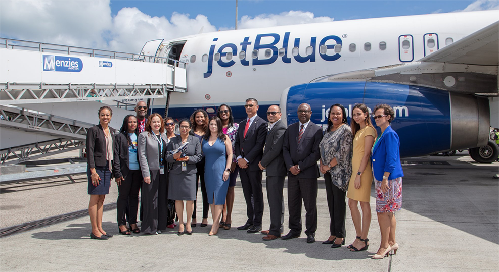 Destination Sainth Barths - JetBlue in Juliana International Airport