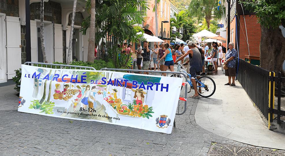 Marché de Saint Barth